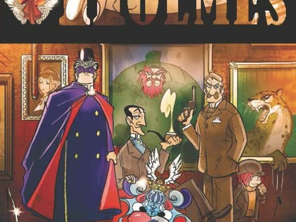 Sherlock Holmes - A Scandal In Bohemia Graphic Novel's video poster