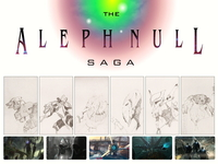 The Aleph Null Saga Artwork