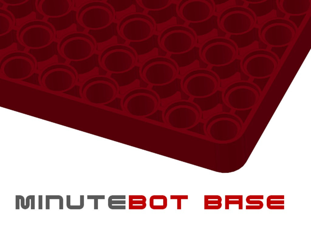MinuteBot Base for LEGO Mindstorms enabled robotics's video poster