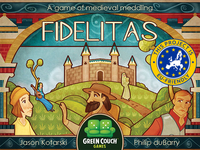 Fidelitas: A card game of medieval meddling for 2-4 players!