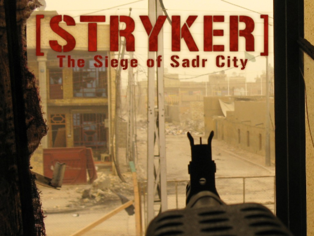 Stryker: The Siege of Sadr City's video poster