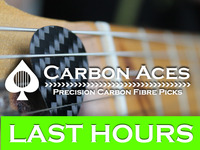 Carbon Aces - Real Carbon Fibre Guitar Picks