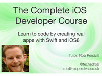 Complete iOS 8 Developer Course Using Swift - No Mac Needed!