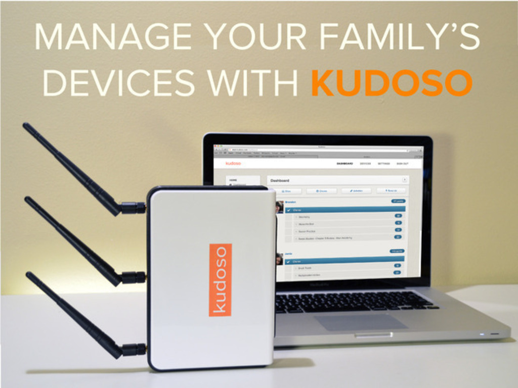 Kudoso: Changing The Way Families Manage Technology At Home's video poster