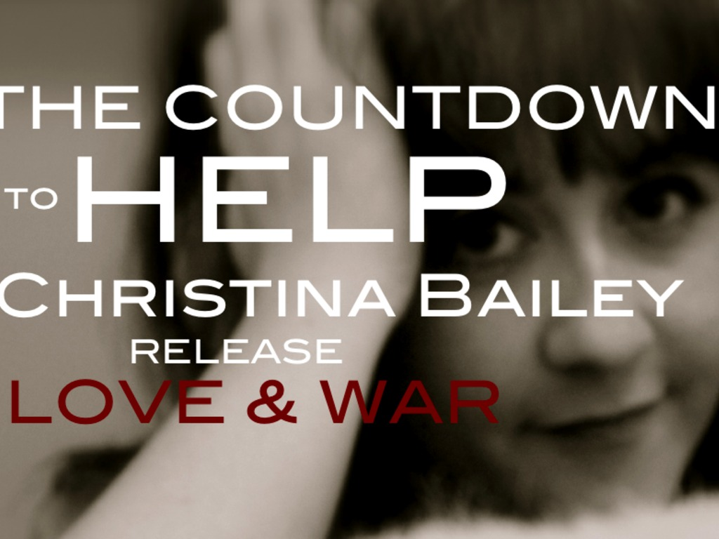 HELP MAKE CHRISTINA BAILEY'S SOLO EP :::LOVE & WAR:::'s video poster