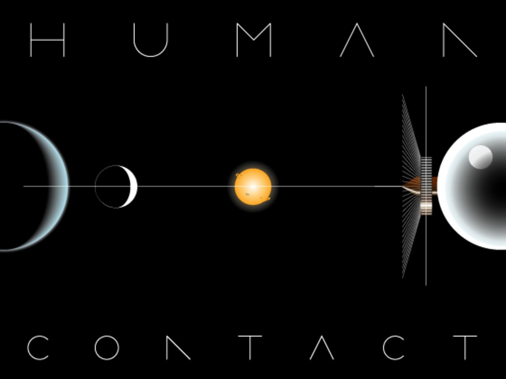 Human Contact —a hard SF roleplaying game about humans's video poster