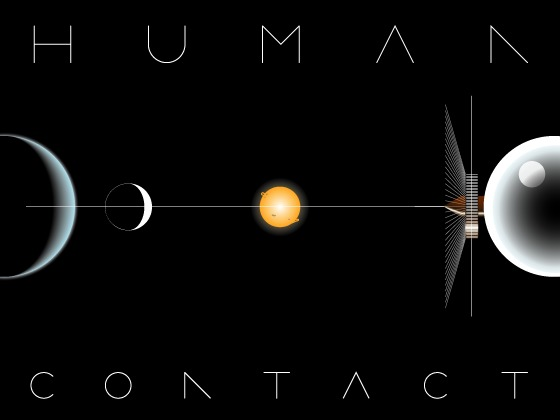 Human Contact — a hard SF roleplaying game about humans's video poster