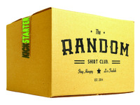 """Random Shirt Club: """"Be Random"""""""