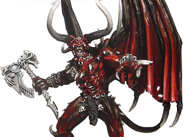 démons miniatures
