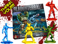 Slaughterball - Brutally Deluxe Sci-Fi Sports Board Game