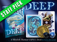 """Deep"" - A Bicycle Merfolk themed Playing Card Deck"