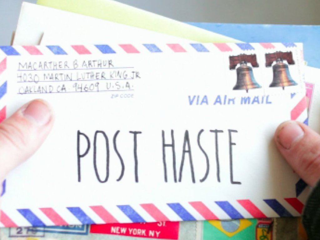 Post Haste's video poster