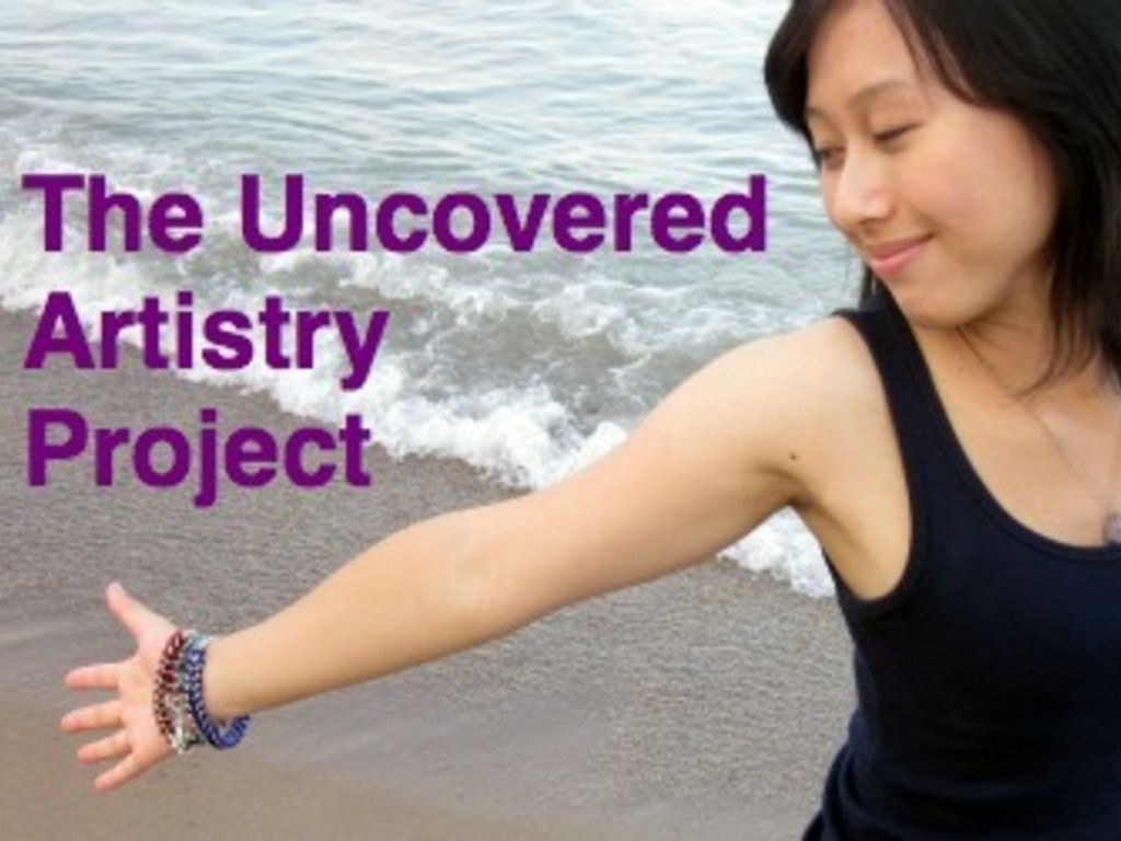 The Uncovered Artistry Project: An Art Show to End Abuse's video poster