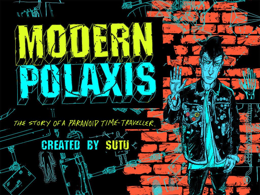 Modern Polaxis - Augmented Reality Comic Book and App's video poster