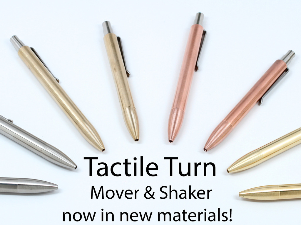 Tactile Turn Mover & Shaker Pens - New Materials's video poster