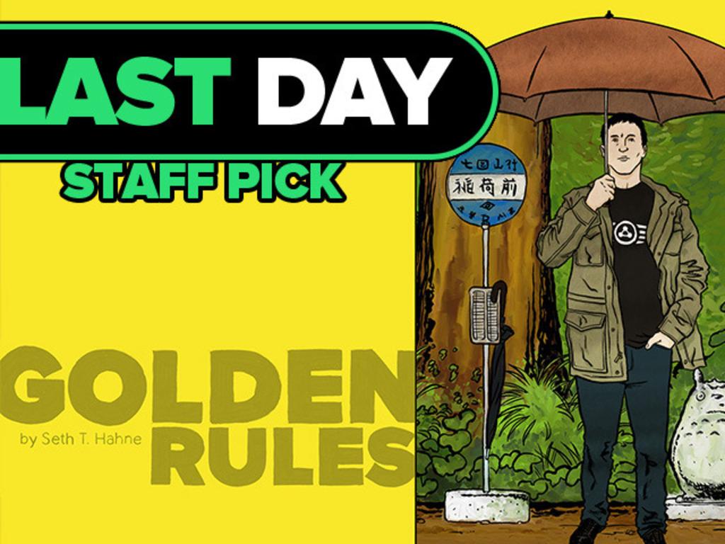 Golden Rules, a comic about men's restroom etiquette's video poster