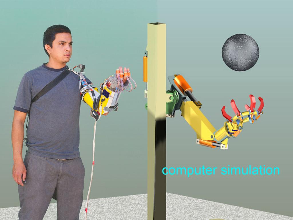 Human scale prototype for BugJuggler, a Car Juggling Robot's video poster