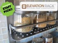 Elevation Rack: Reclaim Your Countertops