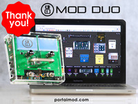 MOD Duo: The limitless multi-effects pedal.