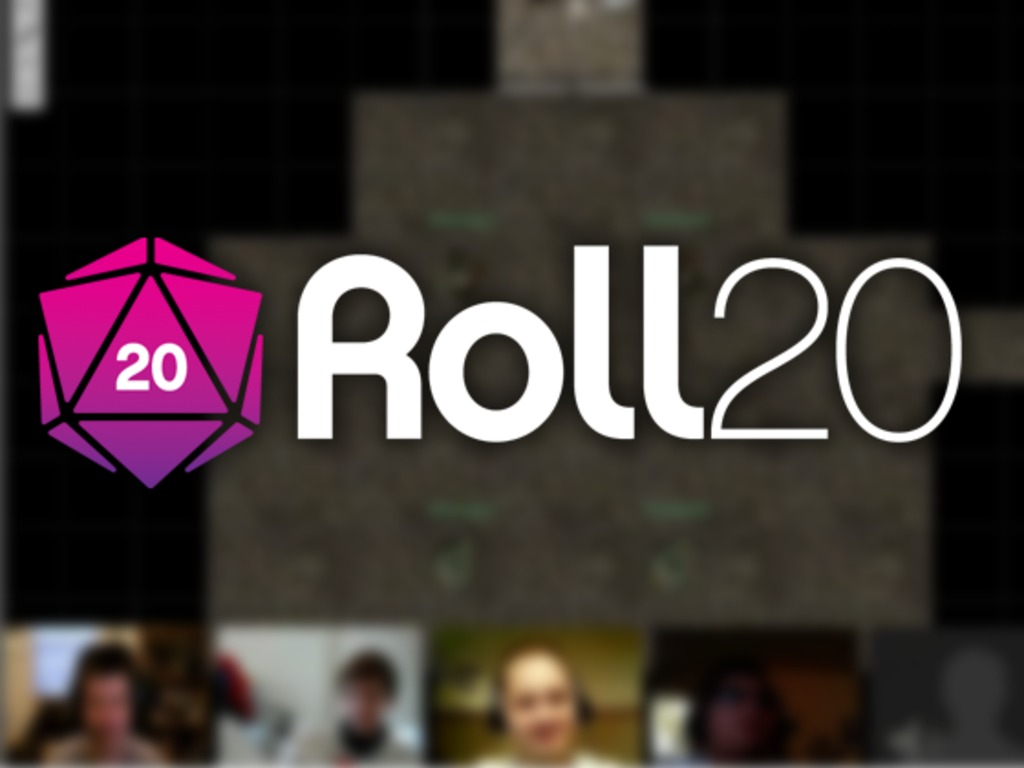 Roll20 -- Virtual tabletop gaming that tells a story's video poster