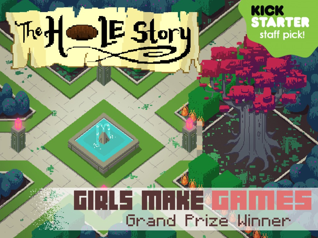 Girls Make Games Presents: The Hole Story!'s video poster