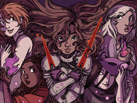 Valor: Fairy tale comic anthology about courageous heroines