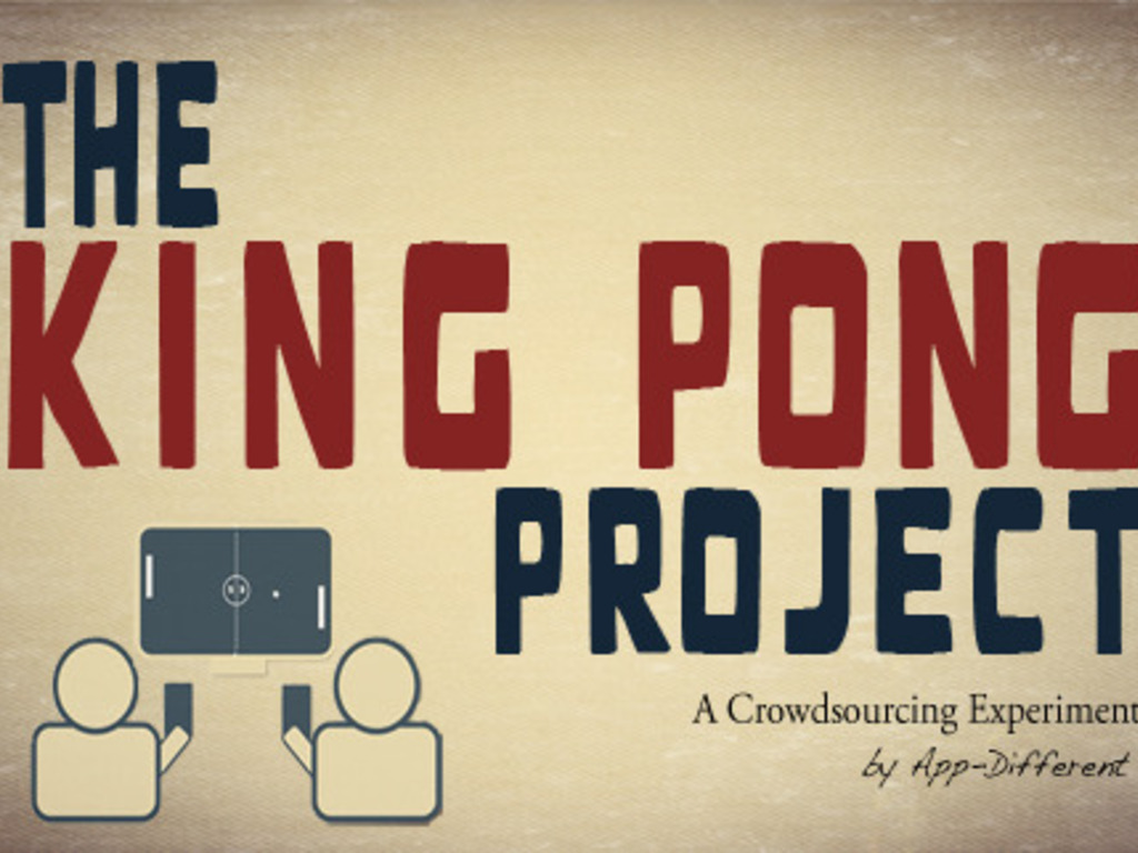 KING PONG PROJECT: You vote, We build. iPhone & Apple TV's video poster