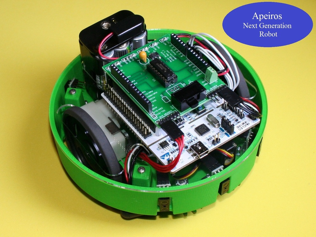 Apeiros - The Next Generation Open Source Robot (Canceled)'s video poster