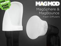MagSphere & MagBounce Flash Diffusers - by MagMod