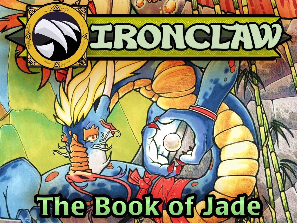 THE BOOK OF JADE - Supplement for the Ironclaw RPG's video poster