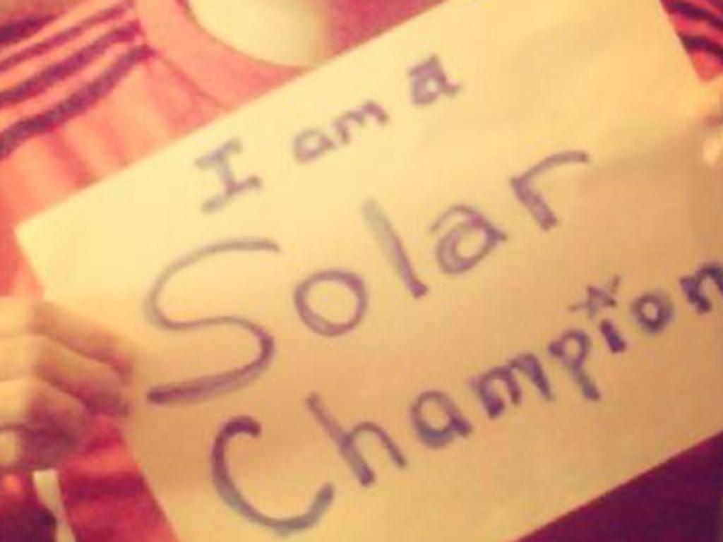 THE SOLAR CHAMPION: Light a BILLION lives & the solar bulb!'s video poster