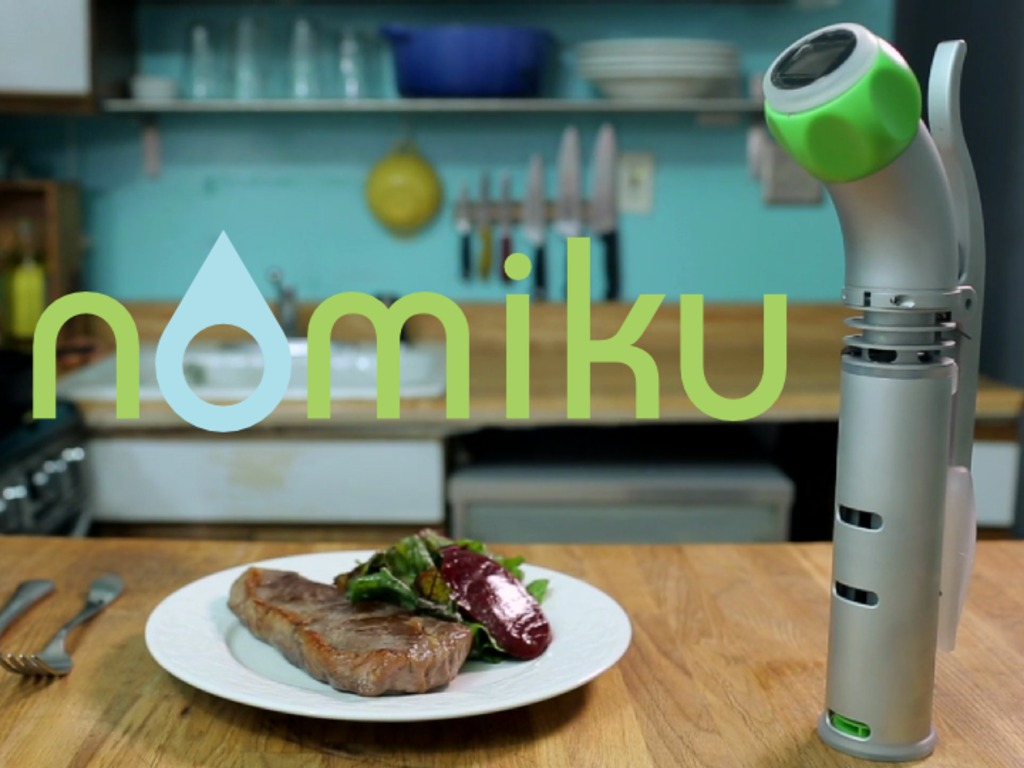 Nomiku: bring sous vide into your kitchen.'s video poster