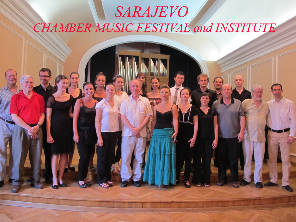 A  classical Chamber Music Festival in Sarajevo's video poster