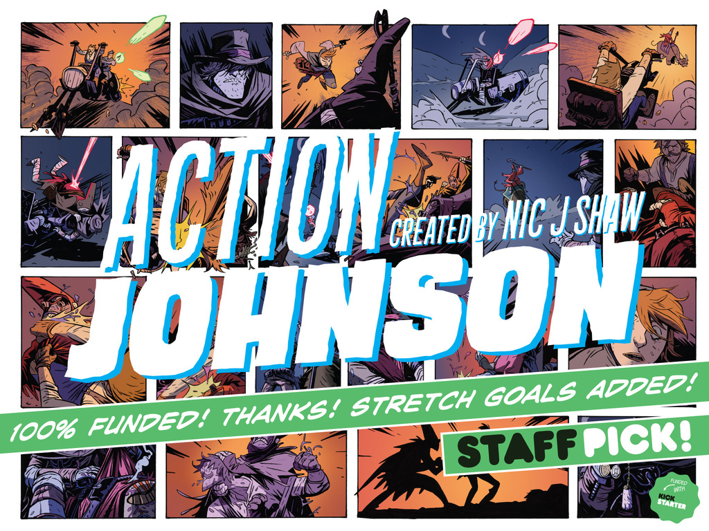 Action Johnson: Actionthology's video poster