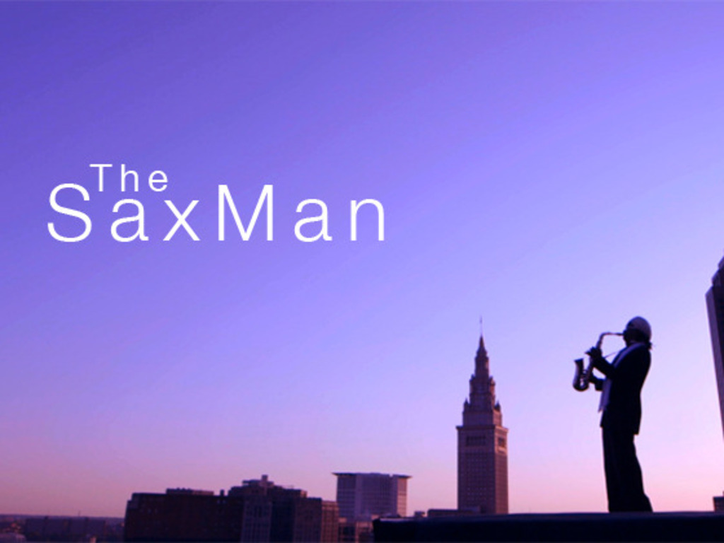 The Sax Man's video poster