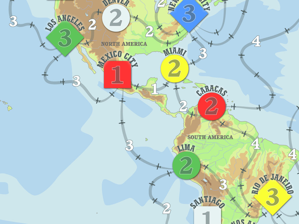 Expedite - A fast paced, route building game of World Trade's video poster