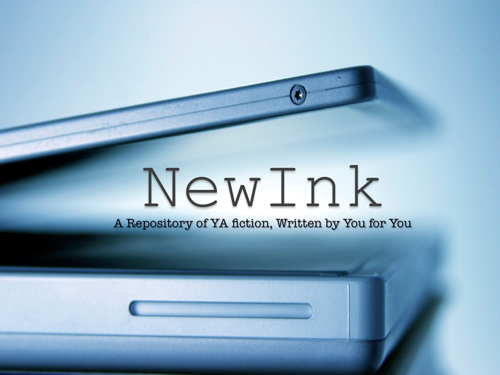 NewInk: Because your awesome fiction must be shared's video poster