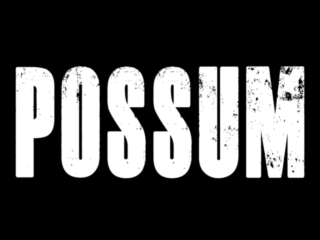 POSSUM - a short movie about a Southern Outlaw's video poster