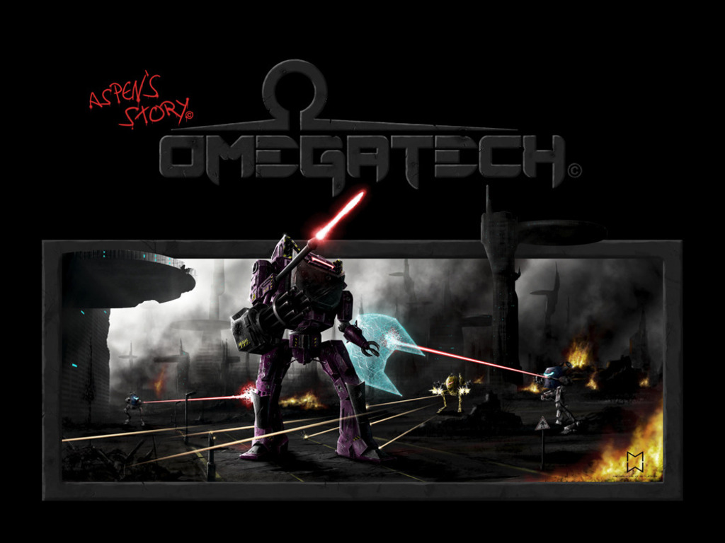 Omegatech ( an iPad/iPhone video game )'s video poster