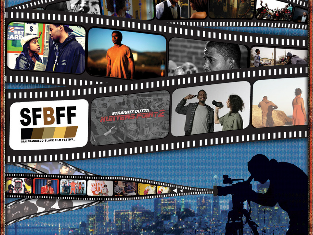 The San Francisco Black Film Festival's video poster