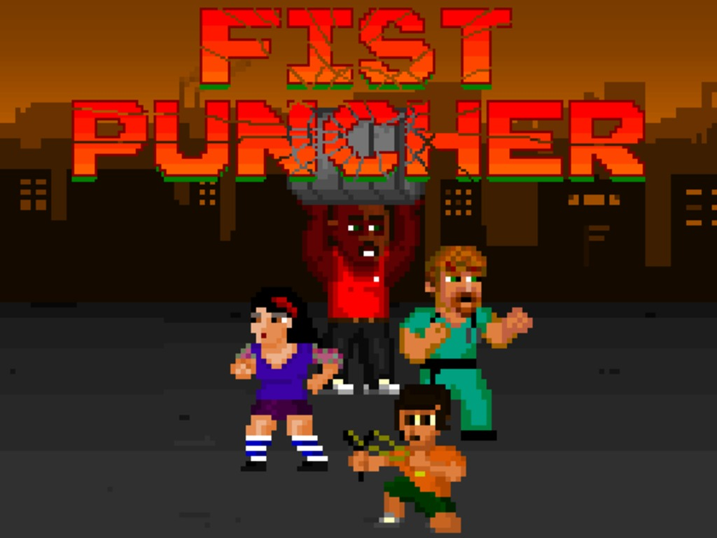 Fist Puncher: Old School Beat 'Em Up's video poster