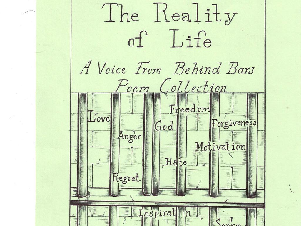 The Reality of life A voice from behind bars poem collection's video poster