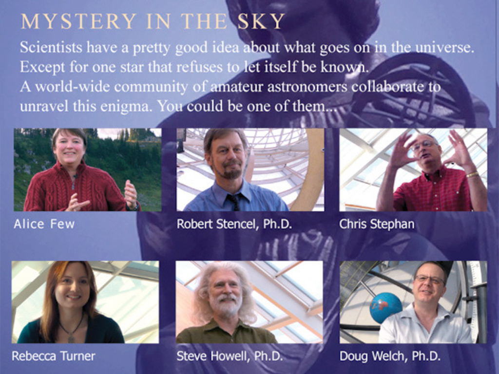 Mystery in the Sky's video poster