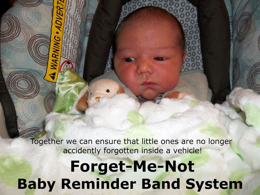 Forget-Me-Not Baby Reminder Band System for Vehicles's video poster