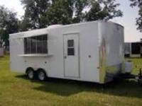 Concession Trailer to feed wounded warriors and soldiers
