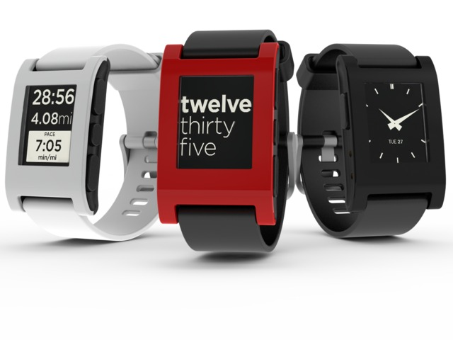 Pebble: E-Paper Watch for iPhone and Android's video poster