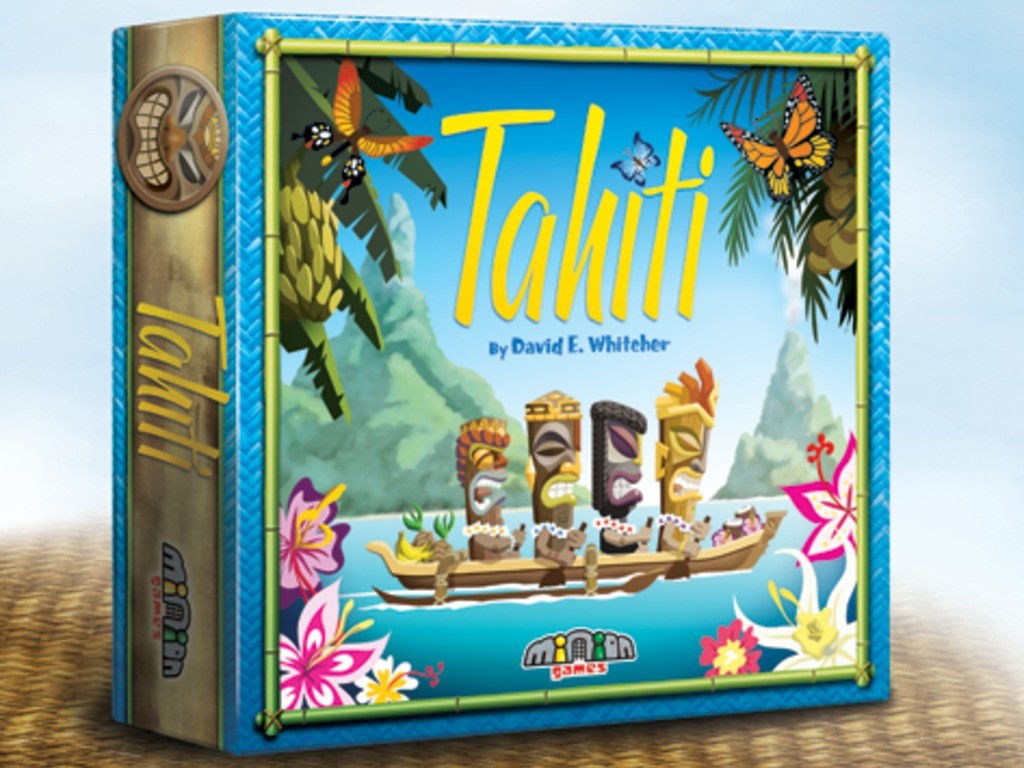 Tahiti - board game's video poster