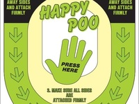Happy Poo is your 'mess-free' way of unclogging toilets.