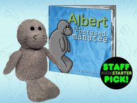 """""""Albert the Confused Manatee"""" Children's Book and Plush Toy"""