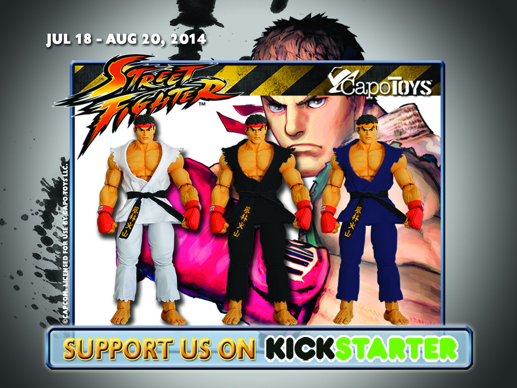 Street Fighter™ Articulated Ryu Action Figures, Capo Toys.'s video poster